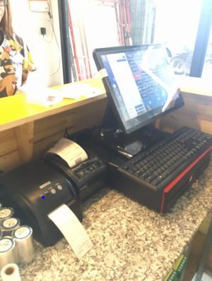 Bán Máy tính tiền cảm ứng cho Quán Trà Sữa tại Bắc Giang Bắc Ninh