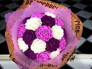 Hoa giấy nhún 10k/1 bông