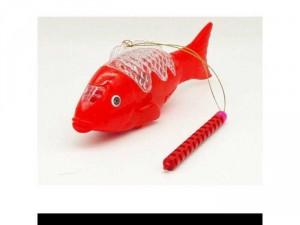 Lồng đèn trung thu cá chép led phát sáng có nhạc