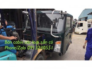 Bán Cabin Xe Tải Ben Cửu Long Tmt Sino Truck...