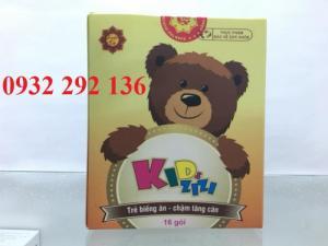 KidsZIZI hỗ trợ cải thiện cho trẻ biếng ăn, chậm tăng cân