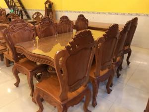 2018-08-15 16:19:55  6  Bộ bàn ăn kiểu cổ điển 8 ghế VIP - BBA222 60,000,000