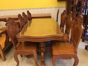 2018-08-15 16:19:55  4  Bộ bàn ăn kiểu cổ điển 8 ghế VIP - BBA222 60,000,000