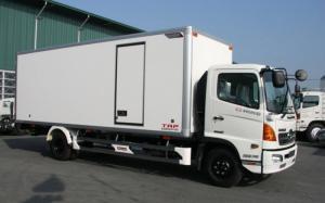 Xe tải Hino 6.4 tấn thùng bảo ôn, trả trước...