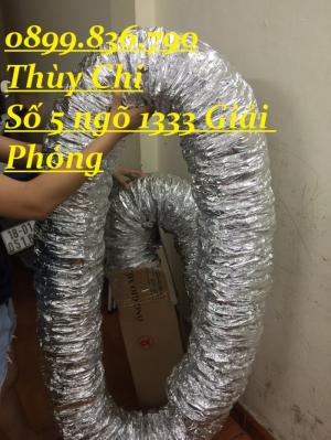2018-08-15 16:16:43 Ống gió mềm nhôm bảo ôn , không bảo ôn , ống Hàn quốc giá cạnh tranh nhất . 40,000
