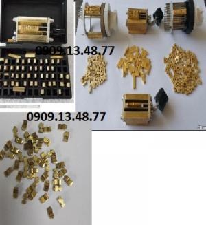 Số, ký tự  của máy hàn liên tục có in date FRM980, FRD1000, MY 380, số của máy in date thủ công DY8