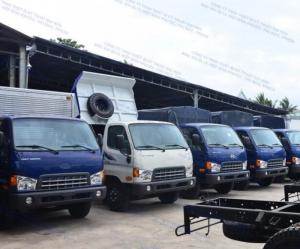 2018-08-15 22:07:40  4  Xe tải 7 tán HYUNDAI HD700 thùng mui bạt 610,000,000