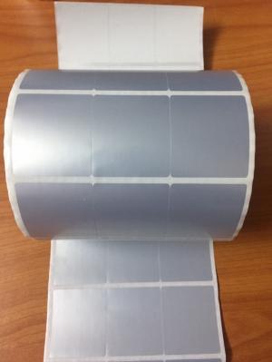 Decal xi bạc 35x40mm x cuộn 50m - Giá tốt