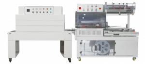Máy rút màng co hộp giấy, máy bọc màng co chai lọ mỹ phẩm, máy co màng pvc, pof BS200X150