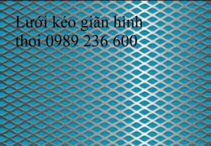 Lưới hình thoi 6x12x0.5ly, 10x20x1ly,20x40x2ly, 30x60x3ly, 45x90x3ly...có sẵn