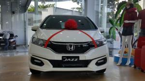 Xe Honda Jazz VX màu trắng mới 100% 2018, giá...