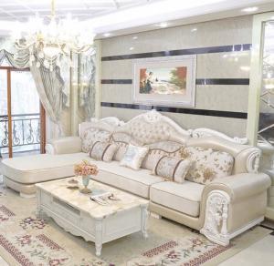 Bàn ghế sofa gỗ tân cổ điển đẳng cấp giá rẻ