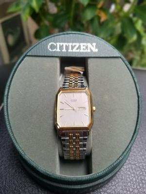 [Đồng Hồ] Citizen Cổ - Quartz - Màu Gold - Dây Kim Loại