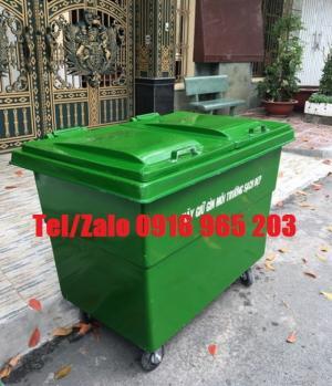 Công ty bán xe thu gom rác 1000 lít 4 bánh nhỏ tại tp hcm