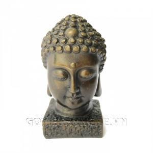 Tượng Đá Đầu Phật Thích Ca - 12cm
