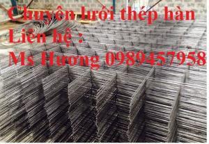 Bán lưới  hép hàn đổ bê tông phi 6, phi 8 ô 100x100, 150x150, 200x200, 250x250 tại Hà Giang giá rẻ nhất