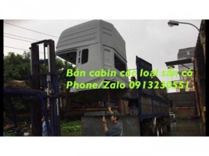 Bán Vỏ Cabin Dongfeng Nóc Cao, Howo
