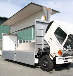Xe tải Hino 3 chân FL8JTSL 16 tấn thùng cánh dơi - Trả trước 10% nhận xe