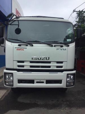 Khuyến mãi mua xe tải ISUZU 3 chân 15 tấn FVM34T, trả trước 200 triệu - GIAO XE NGAY