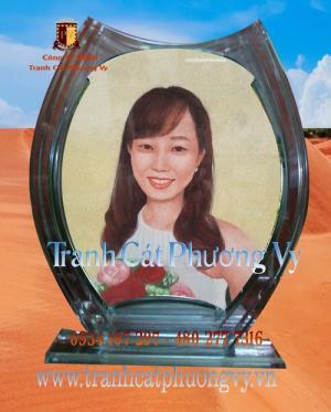Tranh cát Việt Nam, tranh cát chân dung tác phẩm nghệ thuật Việt Nam
