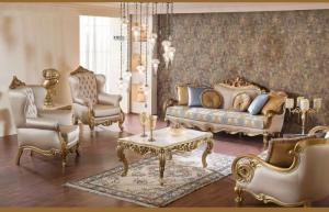 Sofa cổ điển phong cách châu âu cho biệt thự sang trọng đẳng cấp