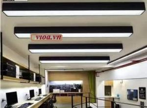 Máng đèn led – Máng hộp thả trần 200×1200 có nắp chống lóa Vĩnh Thái