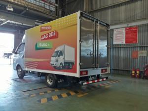 Bán xe tải Jac x-125, Jac 1250kg/ 1.25 tấn Thùng Kín X Series euro 4,Vay 80-85%, Cam kết giá tốt nhất Kiên Giang