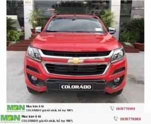 Chevrolet COLORADO nhập khẩu Thái Lan- giá tốt nhất giảm tới 30tr  vay 100% với lãi suất ưu đãi