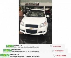 Chevrolet AVEO Tặng ngay 60tr- LS ưu đãi, hỗ trợ 100%