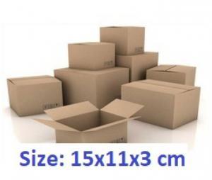 Thùng carton 15x11x3cm 50 cái