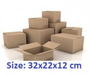 Thùng carton 32x22x12cm 50 cái