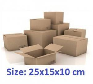 Thùng carton 25x15x10cm 50 cái