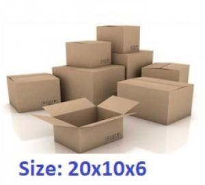 Thùng carton 20x10x6cm 50 cái