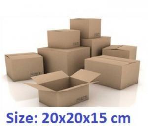 Thùng carton 20x20x15cm 50 cái