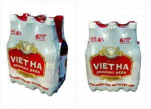 Bia Tươi Chai Pet Việt Hà - pack 6 chai, 1Lit/chai