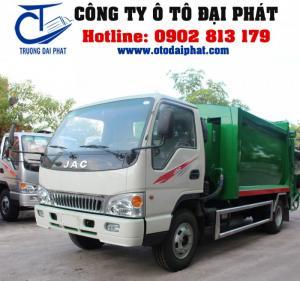 Xe ép rác 9 khối - xe ép rác Jac 9 khối HFC1061K3/CTĐ-CER