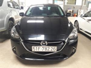 Bán Mazda 2 sedan 1.5AT màu đen VIP số tự động sản xuất 2016 biển Sài Gòn