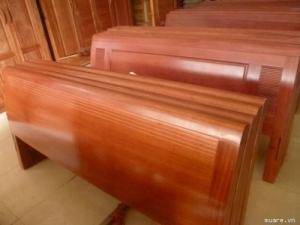 giường ngủ gỗ xoan đào 1M60X2M Hàng bền,đẹp phun PU tỷ mỉ - độ bền trên 50 năm hỗ trợ 3% tổng hóa đơn