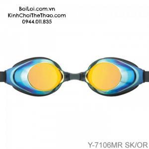 Kính bơi Nhật Tabata YEE Y7106MR BKOR - Đen tráng gương vàng