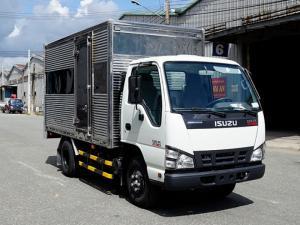 Xe tải ISUZU 1.4 tấn nâng tải 2.4 tấn, thùng kín inox - Trả trước 100 triệu, giao xe ngay
