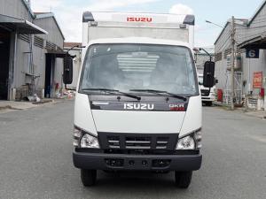 Xe tải ISUZU 1.9 tấn thùng kín inox - Trả trước 100 triệu, giao xe ngay