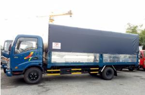 Xe tải VEAM VT260 1.9 tấn, thùng mui bạt dài 6m2 - Trả trước 100 triệu giao xe ngay