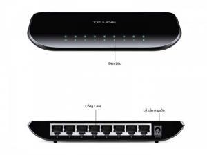 Chia mạng Gigabit 8 cổng TP-LINK TL-SG1008D, bảo hành 2 năm