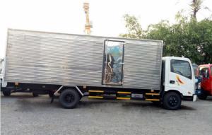 Xe tải VEAM VT260 1.9 tấn, thùng kín inox - Trả trước 100 triệu, giao xe ngay