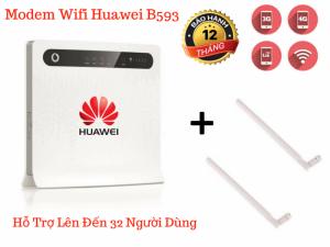 Bộ Phát Wifi Huawei B593 Hỗ Trợ Sim 3G/4G LTE