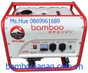 Máy phát điện BamBoo BmB 3800C Le gió tự động AVR