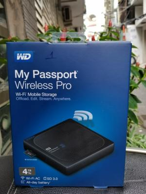 Ổ Cứng Wd My Passport Wireless Pro - 4tb - Rẻ Nhất