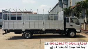 Xe tải Jac 8t4 thùng Bạt + bán xe tải 8.4 Tấn/ 8400kg+ Vay vốn 80%+ Kiên Giang đại lí JAC