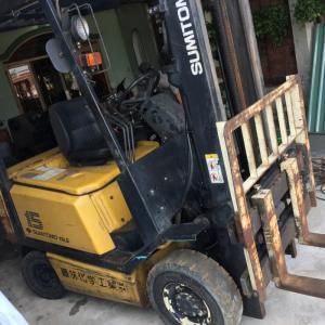 Cần bán 3 máy tiện cũ của nhật và xe nang sumitomo 1.5 tấn