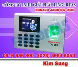 Máy chấm công bằng vân tay DG600, giá rẻ bất ngờ, lắp đặt trọn gói